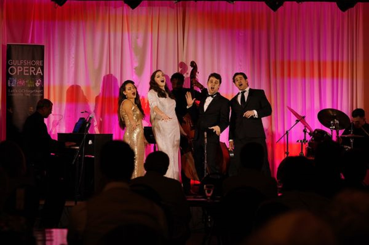 Gulfshore Opera Singers on stage